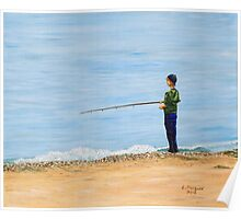 Gone Fishing Poster
