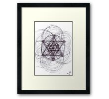 0612 - Evolutionary Roughly Sketched Again But Slightly Different Framed Print