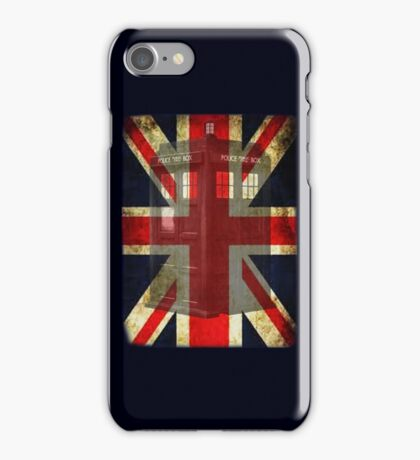 Union Tardis iPhone Case/Skin