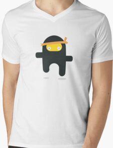 flying ninja Mens V-Neck T-Shirt