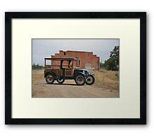1926 Ford Model T Utility Truck Framed Print