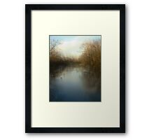 The Slough-From The Slough Series Framed Print