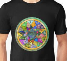 VIRGO Tapestry of Life Mandala Unisex T-Shirt