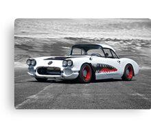 1958 Corvette 'Sharky' Roadster Canvas Print