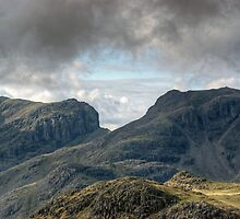 Scafell and Scafell Pike by Jamie  Green