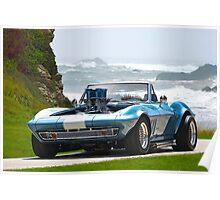 1965 Corvette Convertible Stingray Poster