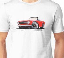 Triumph TR6 Red Unisex T-Shirt