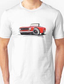 Triumph TR6 Red T-Shirt