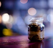 glass jar@night by Victor Bezrukov