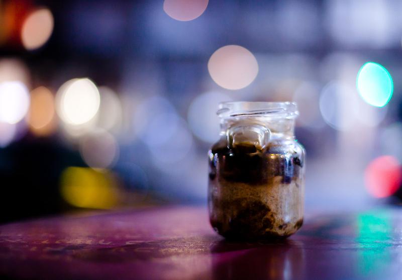 glass jar@night by Victor Bezrukov