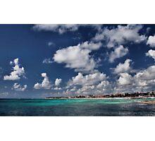 Beach near Playa de Carmen Photographic Print