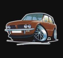 Triumph Dolomite Sprint Brown Kids Tee