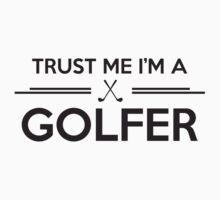 Trust me I'm a Golfer Kids Clothes