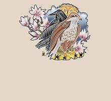 lady hawk and crow Womens Fitted T-Shirt