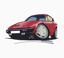 Triumph TR7 FHC Coupe Red by Richard Yeomans