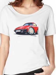 Triumph TR7 FHC Coupe Red Women's Relaxed Fit T-Shirt