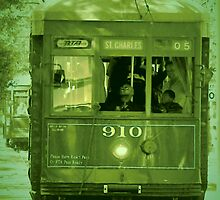 St Charles Trolley by LaFleureRouge1