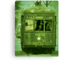 St Charles Trolley Canvas Print