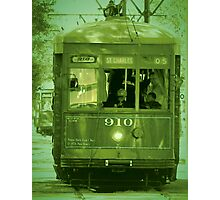 St Charles Trolley Photographic Print
