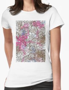 Dried flowers Womens Fitted T-Shirt