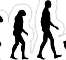 Evolution Golf Sticker