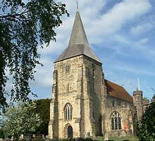 St. Dunstan's Parish Church, Mayfield, East Sussex. by Brian220