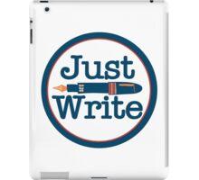 Just Write iPad Case/Skin