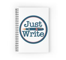 Just Write Spiral Notebook