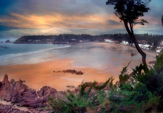 St Brelades Bay, Jersey by Nicky Stewart