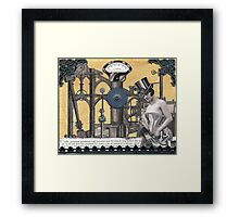 Steamboat Framed Print