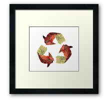 Recycle Framed Print