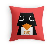 cute penguin ! Throw Pillow