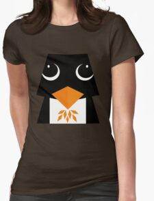 cute penguin ! Womens Fitted T-Shirt