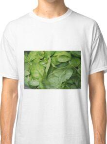 Basil Leaves Classic T-Shirt