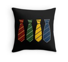 Unsorted Magical Ties Throw Pillow