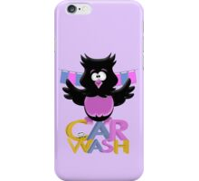 Car Wash Birdie  iPhone Case/Skin