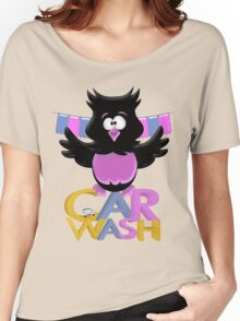 Car Wash Birdie  Women's Relaxed Fit T-Shirt