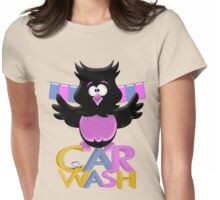 Car Wash Birdie  Womens Fitted T-Shirt