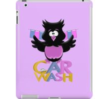 Car Wash Birdie  iPad Case/Skin