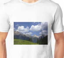 Clouds in the Dolomites Unisex T-Shirt