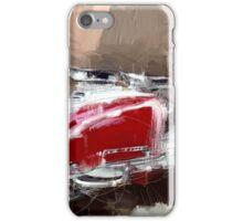 Red Lambretta iPhone Case/Skin