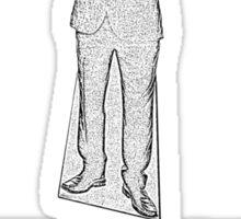 Cardboard Cuomo Sticker