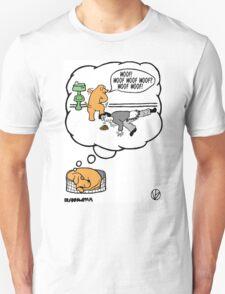 Dogs Dream. T-Shirt