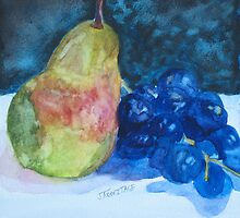 Pearcial to Grapes by JennyArmitage