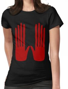 Hands of Fate Womens Fitted T-Shirt