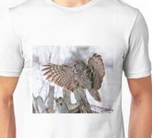 Great Grey Owl - Dunrobin, Ontario Unisex T-Shirt