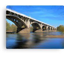 The Gervais Street Bridge Canvas Print