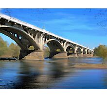 The Gervais Street Bridge Photographic Print
