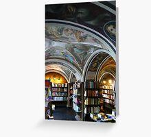 Bookshop at Vilnius University Greeting Card