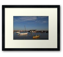 Bridlington Harbour No2 Framed Print